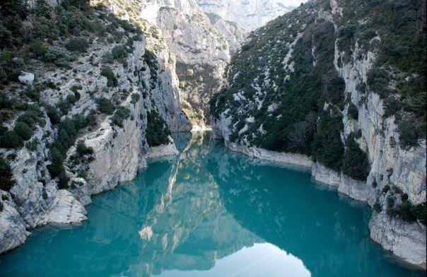 Вердонское ущелье (Гранд Каньон дю Вердон), Франция
