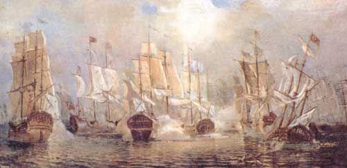 11 сентября - победа русской эскадры над турками у мыса Тендра