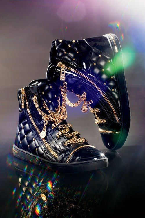 Quilted Michael Kors High Top