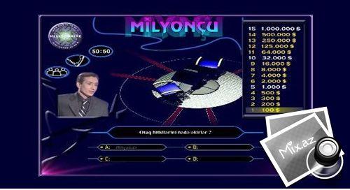 Resim arama hizmeti sayesinde tüm netden bulunan Milyoncu oyunu foto