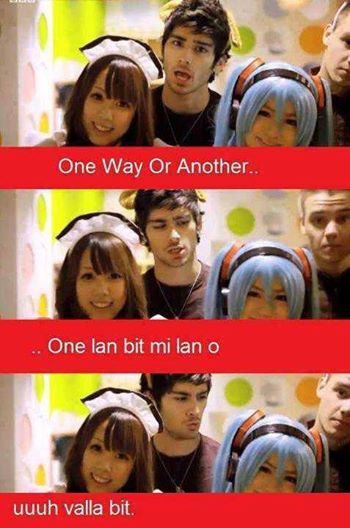 One Direction (gülməli şəkillər)